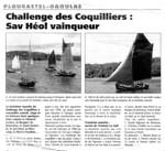 Le Télégramme août 2005 : Challenge des coquilliers