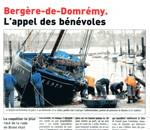 Le Télégramme du 8 avril 2012 : Bergère de Domrémy, l'appel des bénévoles